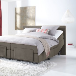Pullman Starline_taupe _boxspring
